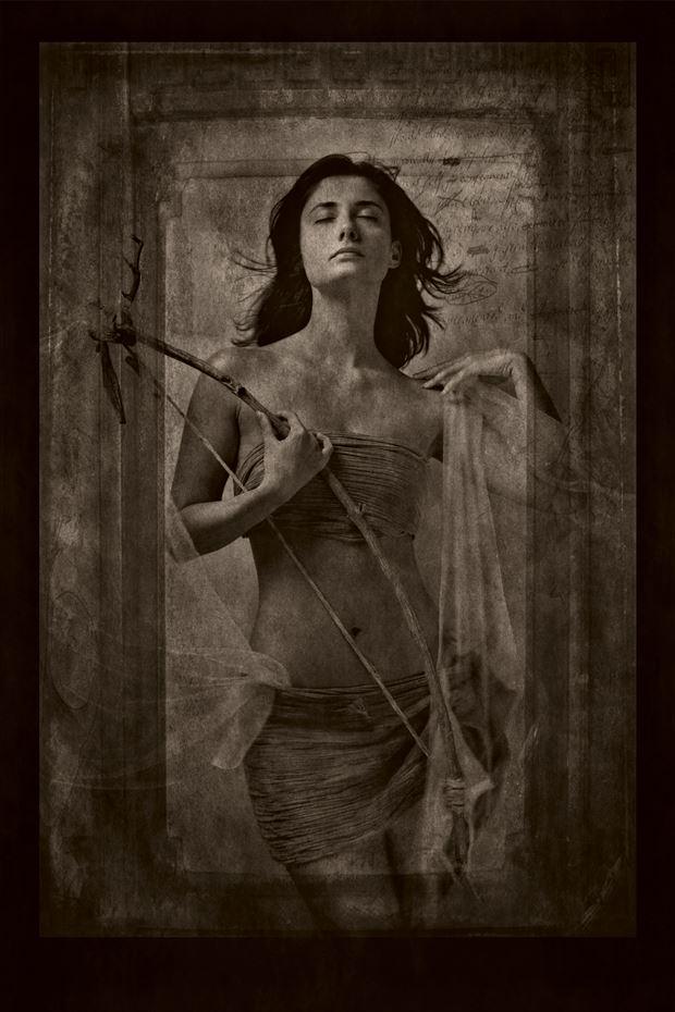athena fantasy photo print by photographer stu williamson