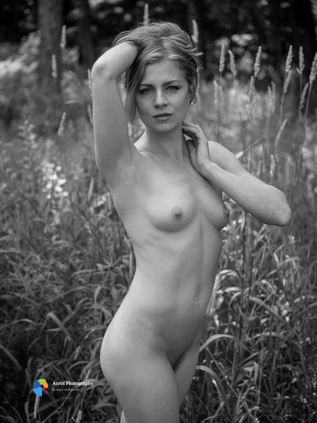 ayla artistic nude photo print by photographer acros photography