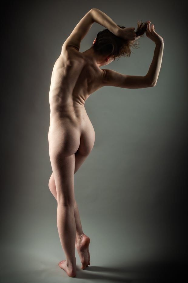 backs are so underrated artistic nude photo print by photographer rick jolson