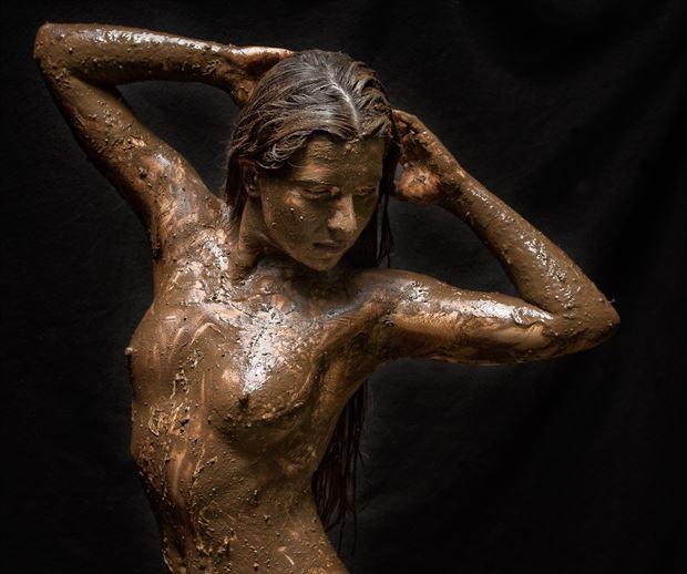 bad hair day artistic nude photo print by photographer rick jolson