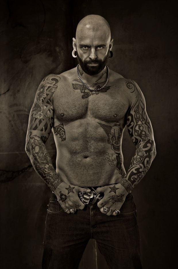 badboy tattoos photo print by photographer stu williamson
