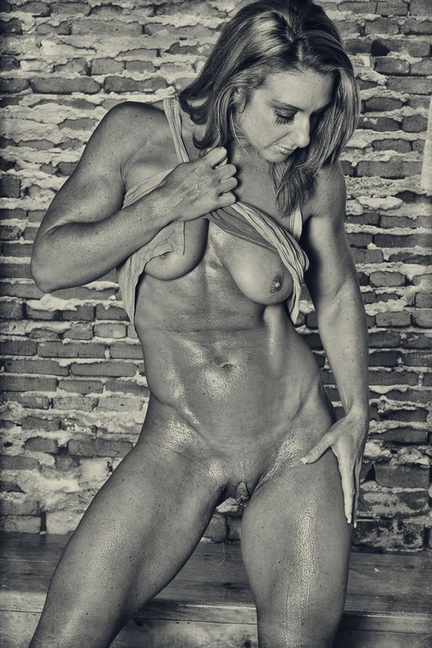 bailey artistic nude photo print by photographer dpaphoto