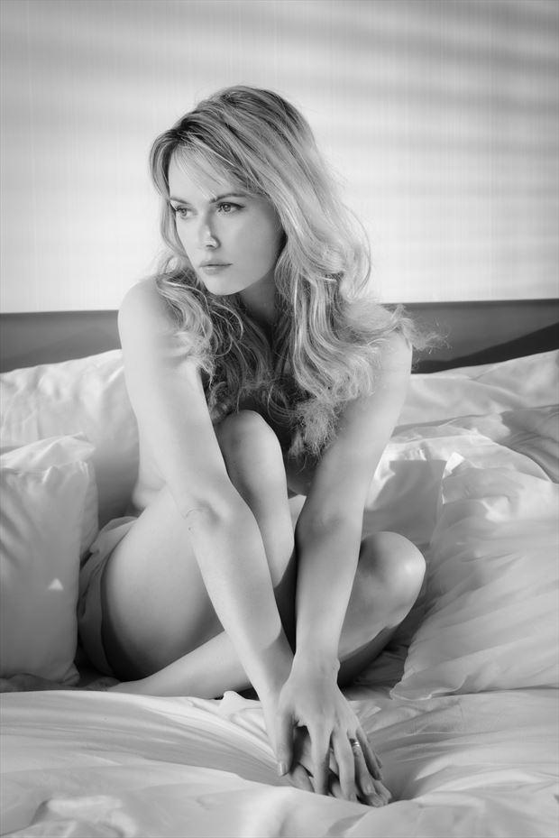 beautiful carla sensual photo print by photographer colin dixon