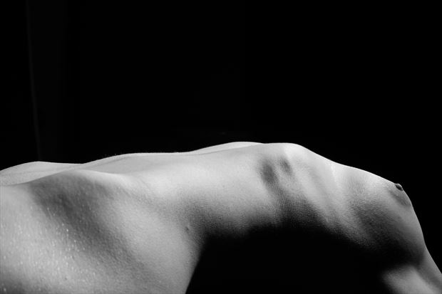 bend artistic nude photo print by photographer gsphotoguy