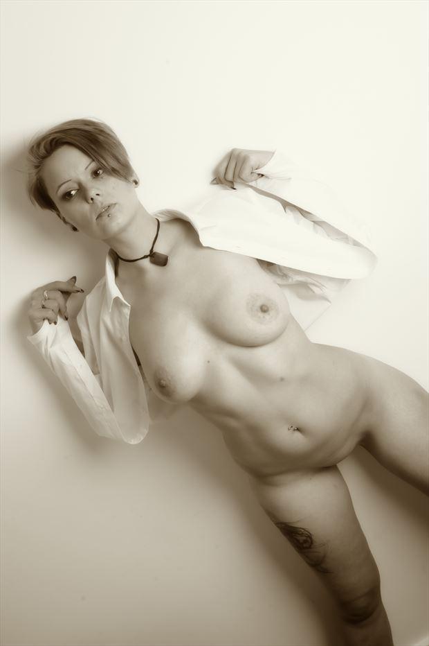 bex artistic nude photo print by photographer glossypinklipstick