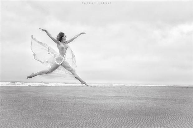 bird artistic nude photo print by photographer randall hobbet