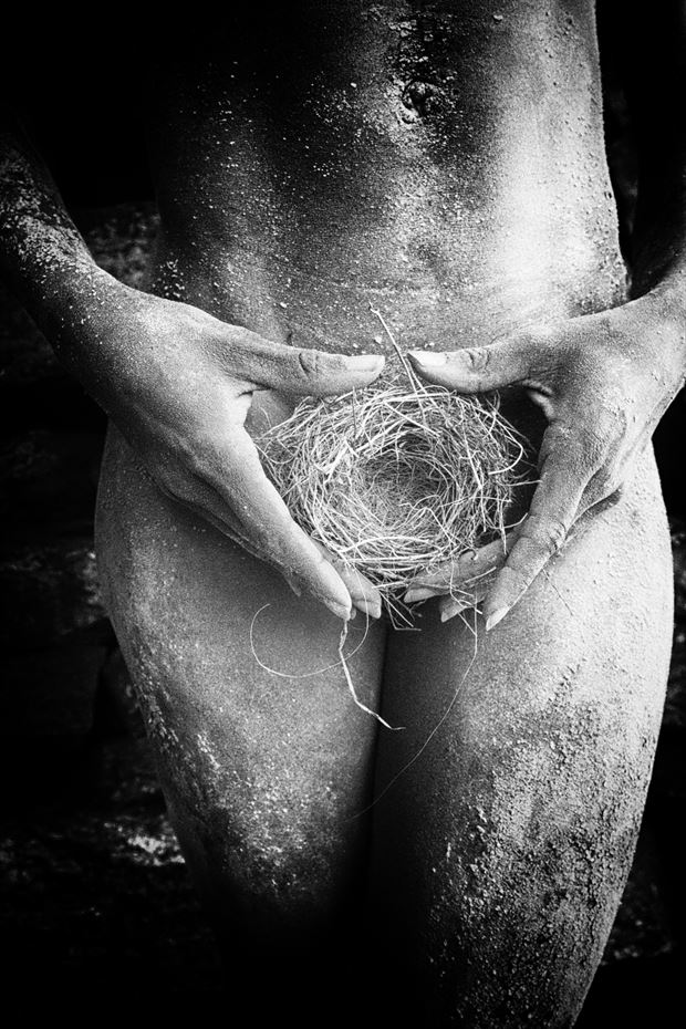 birthplace artistic nude photo print by artist kevin stiles