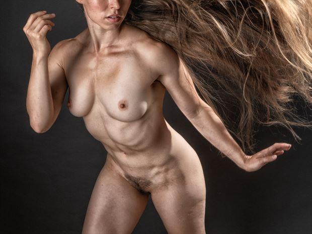 blown away artistic nude photo print by photographer rick jolson