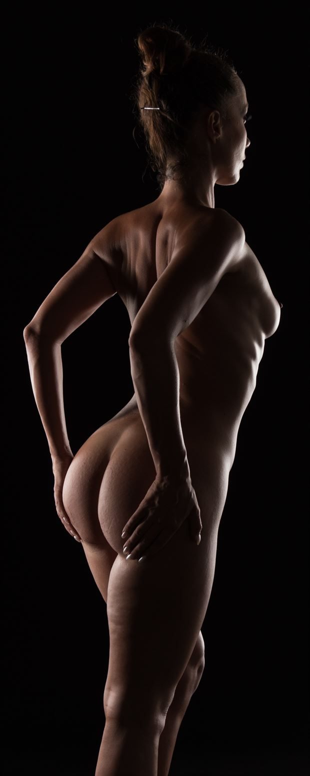 body curves and light curves artistic nude photo print by photographer arcis