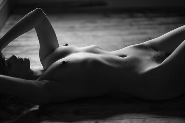 bodyscape artistic nude photo print by photographer colin dixon