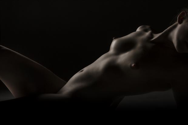 bodyscape artistic nude photo print by photographer ken greenhorn