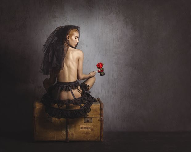 bryony artistic nude photo print by photographer ncp photography