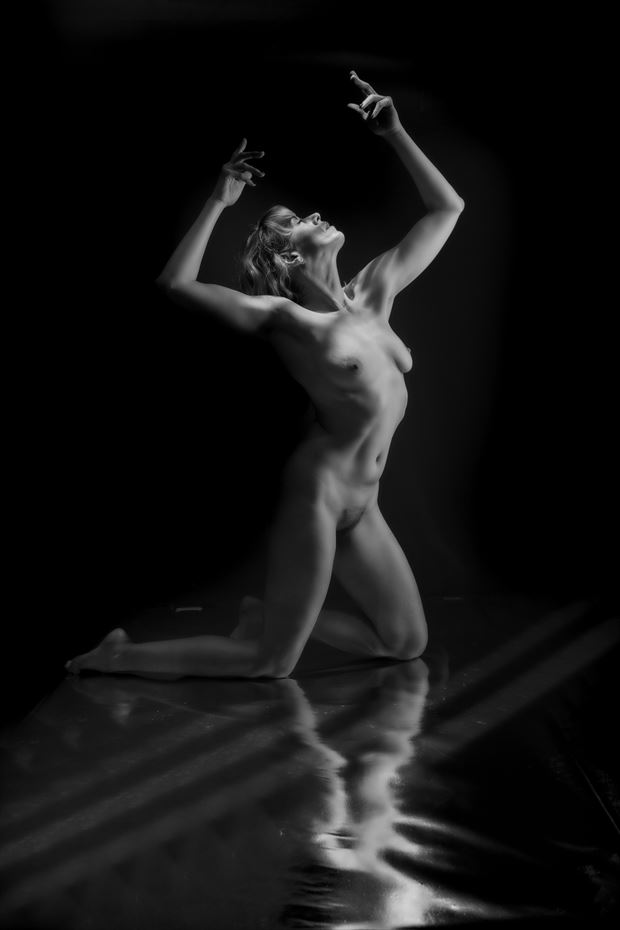 caged artistic nude photo print by photographer colin dixon