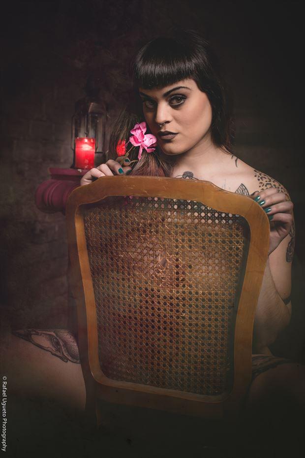 candle life sensual photo print by photographer rafael ugueto photography