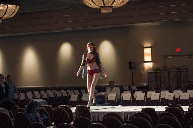 casino fashion show lingerie photo print by photographer michael grace martin