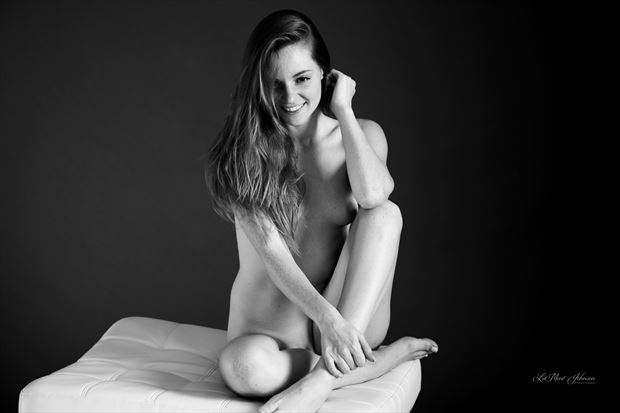 casual moments with miriam 2 artistic nude photo print by photographer lamont s art works