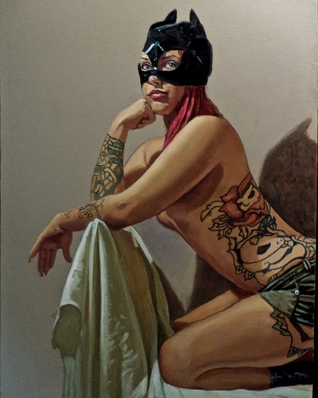 ce ce Erotic Artwork print by Artist mrmike