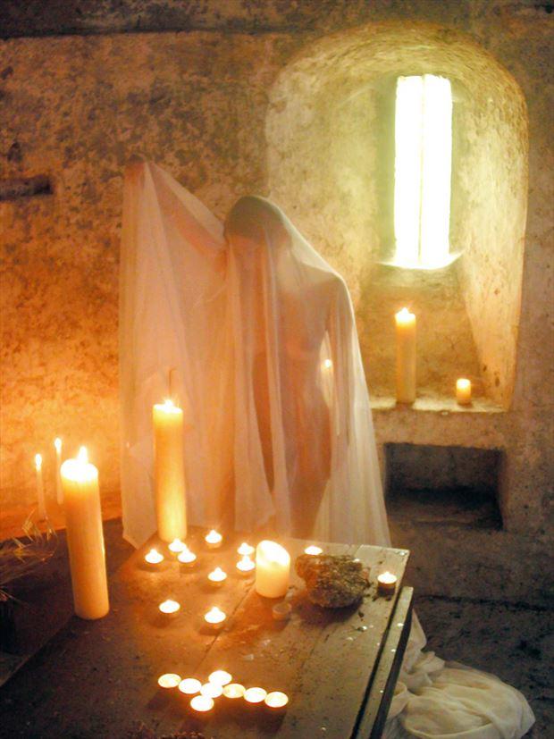 chapel artistic nude photo print by photographer joseph auquier