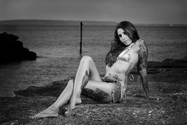 chelsea nostrand alvarado Bikini Photo print by Photographer Kor