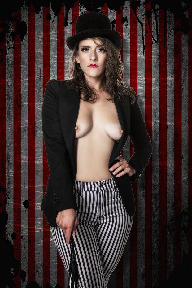 circus erotic photo print by photographer ken greenhorn