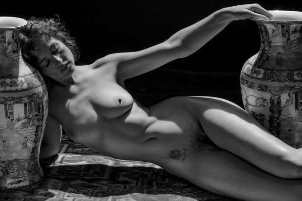 classic nude artistic nude photo print by photographer philip turner