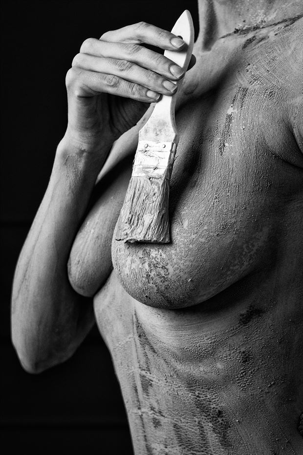 clay artistic nude photo print by photographer jcp photography