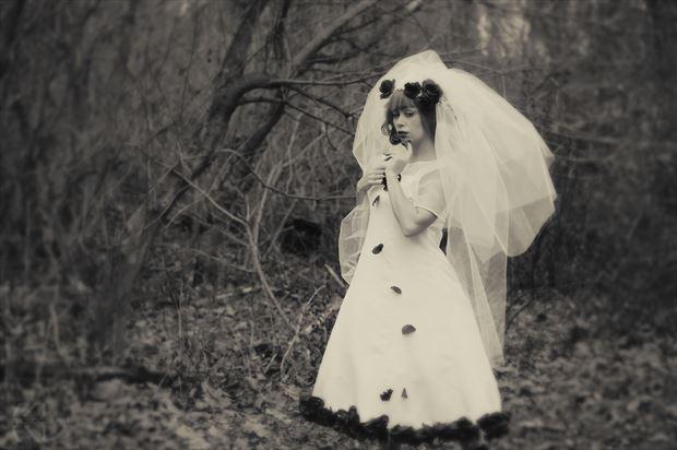 corpse bride vintage style artwork print by photographer klphotos215