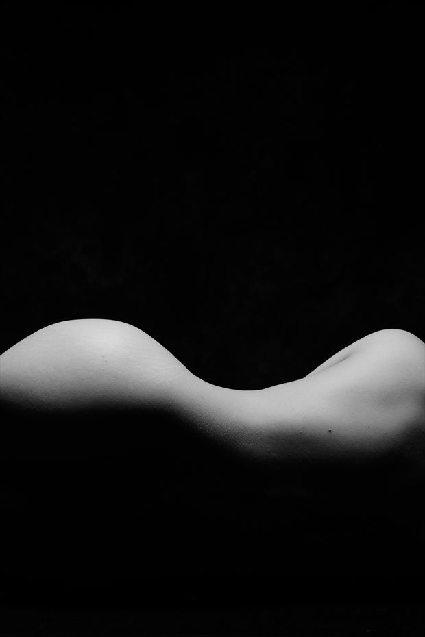 curve abstract photo print by photographer andyd10