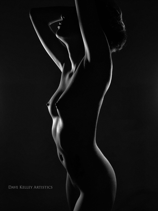 curves Artistic Nude Photo print by Photographer Dave Kelley Artistics