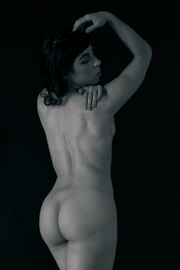 dana low key  Artistic Nude Photo print by Photographer foxfire 555