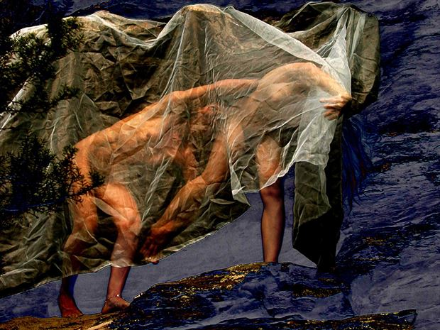 dance artistic nude photo print by photographer joseph auquier