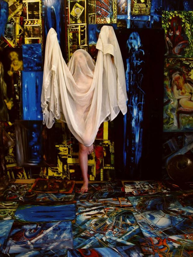 dance in joseph auquier painting atelier 4 artistic nude photo print by photographer joseph auquier