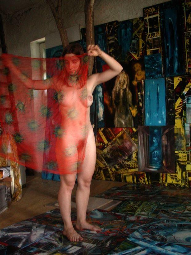 dance in the joseph auquier atelier of painting 4 fantasy photo print by photographer joseph auquier