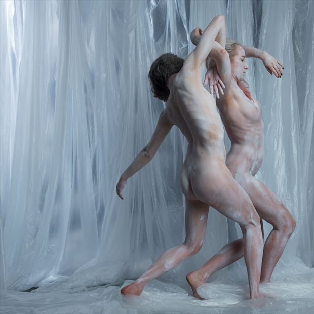 dancing duo fantasy photo print by photographer gee virdi