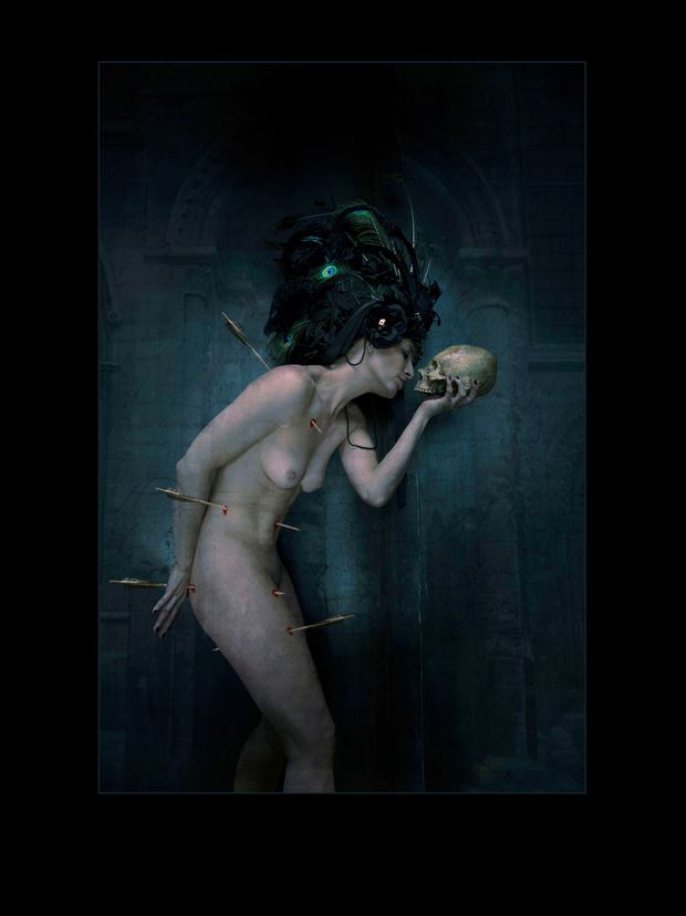 death and its betrayal fantasy photo print by photographer stu williamson