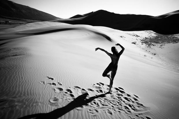 desert dancer nature photo print by photographer gunnar
