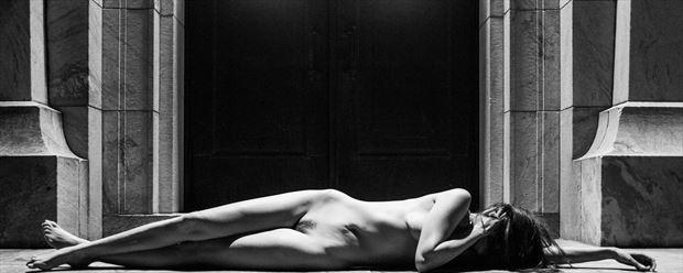 dreaming artistic nude photo print by photographer goadken