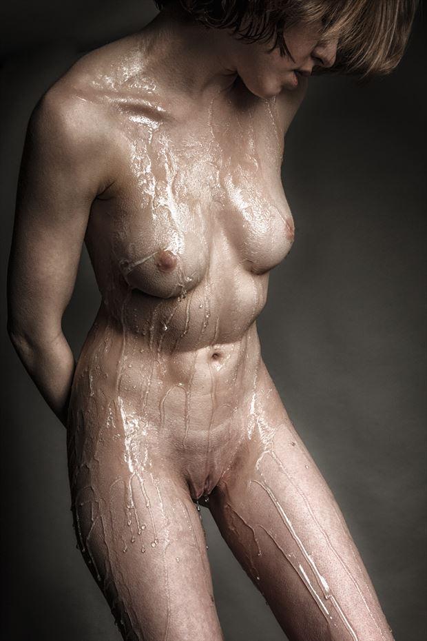 drip drip drip artistic nude photo print by photographer rick jolson
