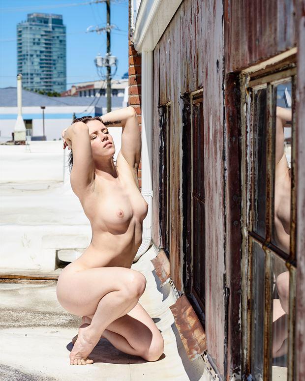 durm i artistic nude photo print by photographer teb art photo