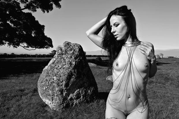 embrace artistic nude photo print by model blackswann_portfolio