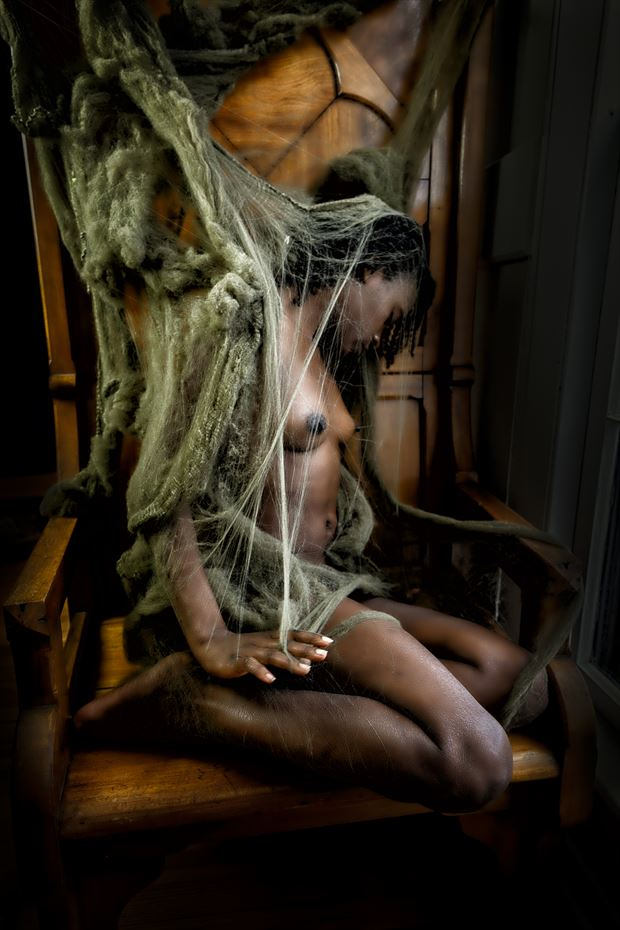 entangled artistic nude photo print by artist kevin stiles