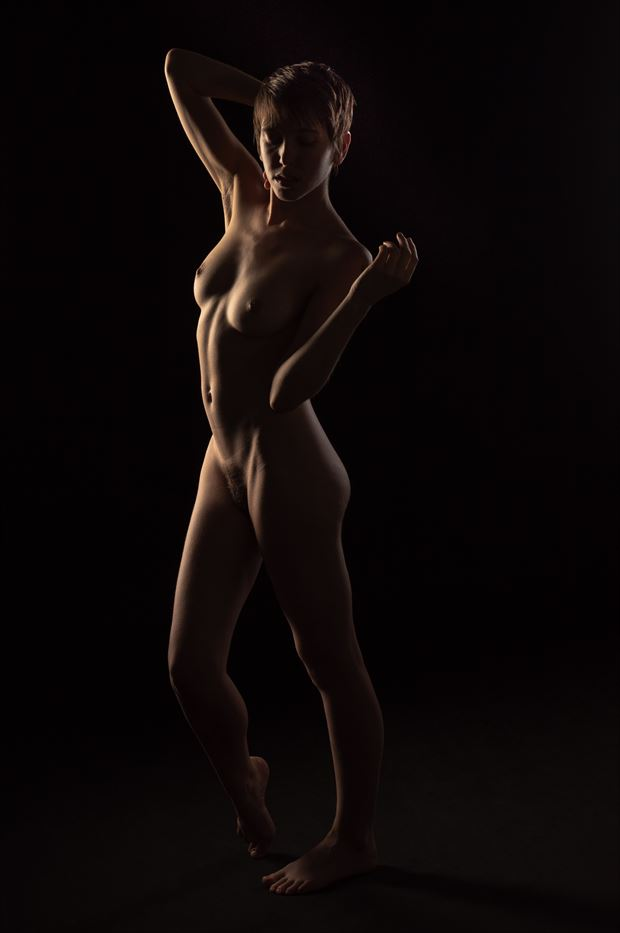 erin and the light ii artistic nude photo print by photographer jsetzer