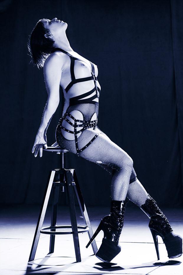 erotic fetish photo print by photographer teb art photo