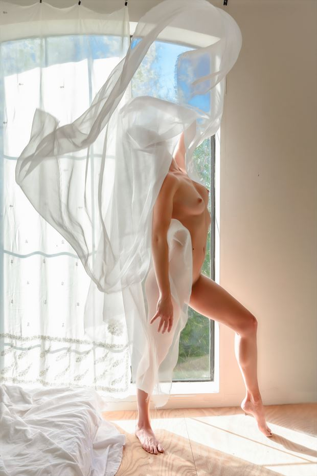 ethereal beauty artistic nude photo print by photographer philip turner
