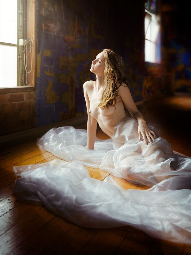 evelyn sommer artistic nude photo print by photographer ncp photography