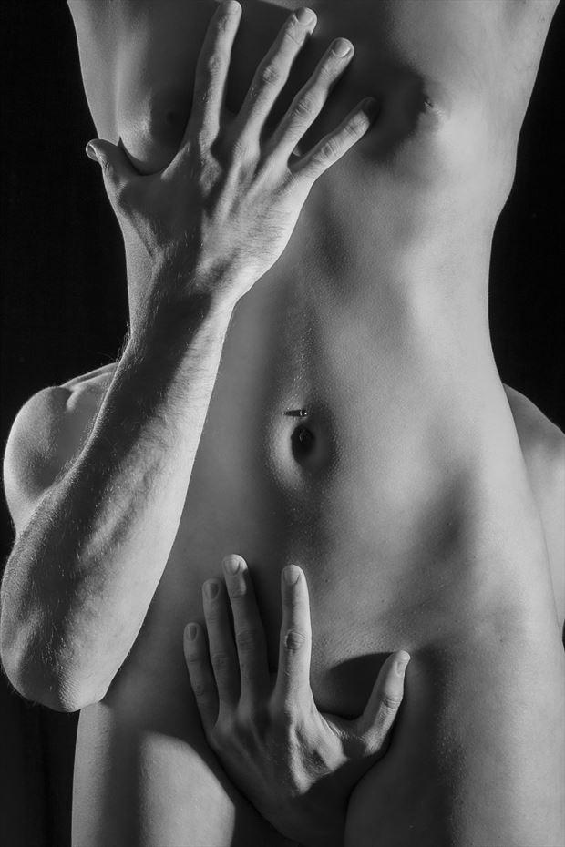 exploration artistic nude photo print by photographer opp_photog