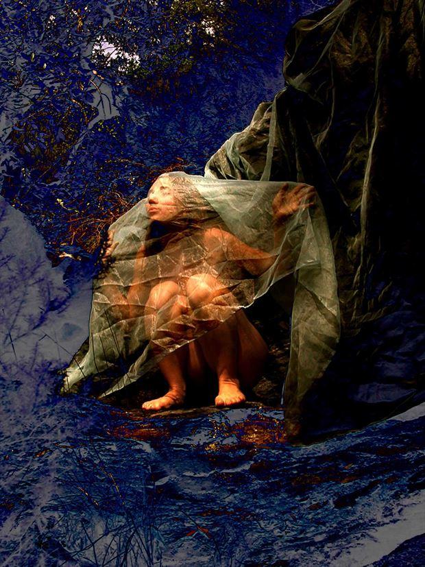 extase artistic nude photo print by photographer joseph auquier