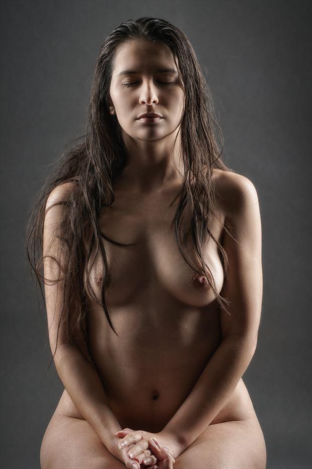eyes wide shut artistic nude photo print by photographer rick jolson