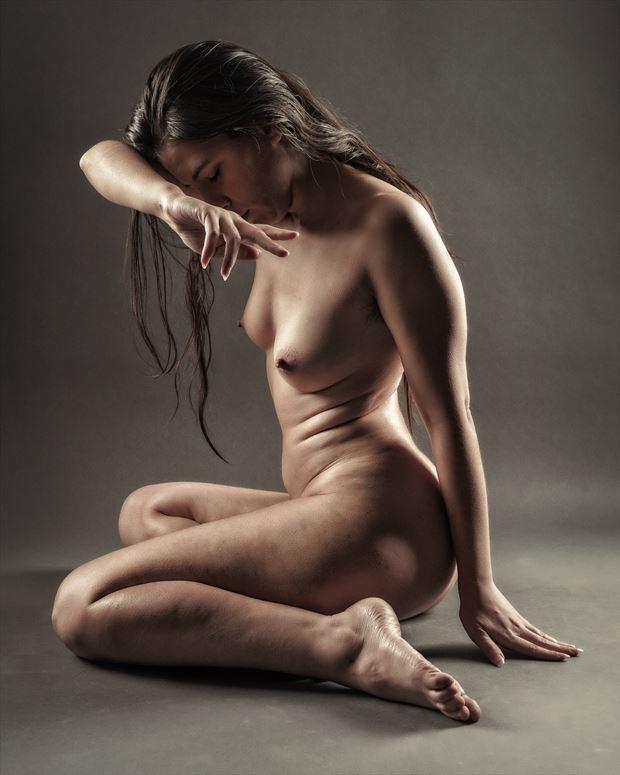 fantastic fingers artistic nude photo print by photographer rick jolson