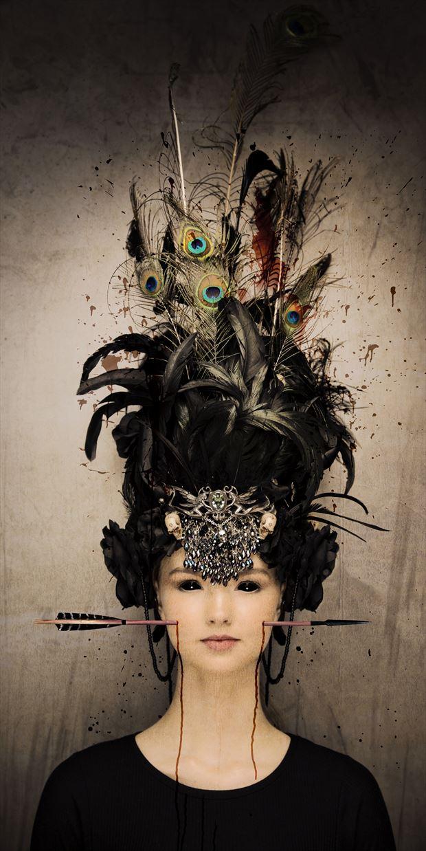 fantasy fashion photo print by photographer stu williamson